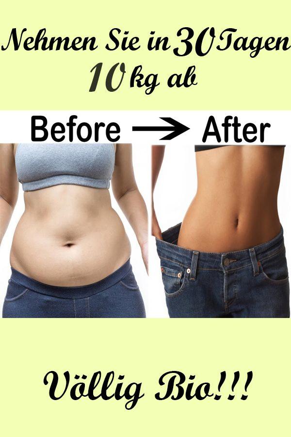 Wie man 10 Kilo in einer Woche ohne Diät verliert
