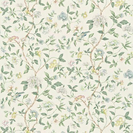 Sanderson Sissinghurst Fabric DRCH222077 Designer Fabrics and Wallpapers by Sanderson, Harlequin, Morris, Osborne, Little And many more