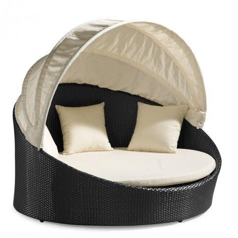 Colva Espresso Canopy Bed