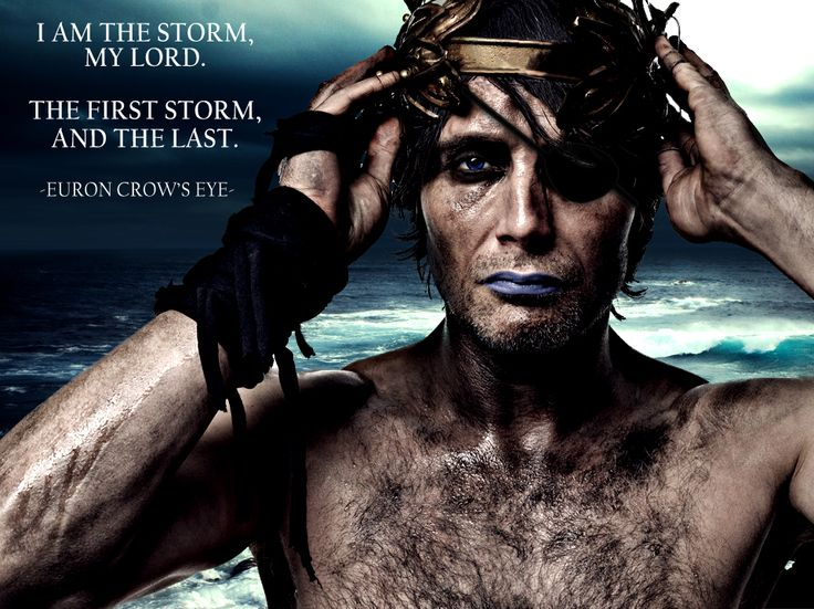 Euron Greyjoy. If they cast Mads Mikkelsen, I am going to freak out SO BADLY!!!