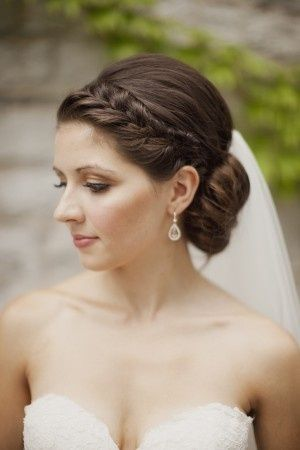 Braid and Chignon Bridal Hair