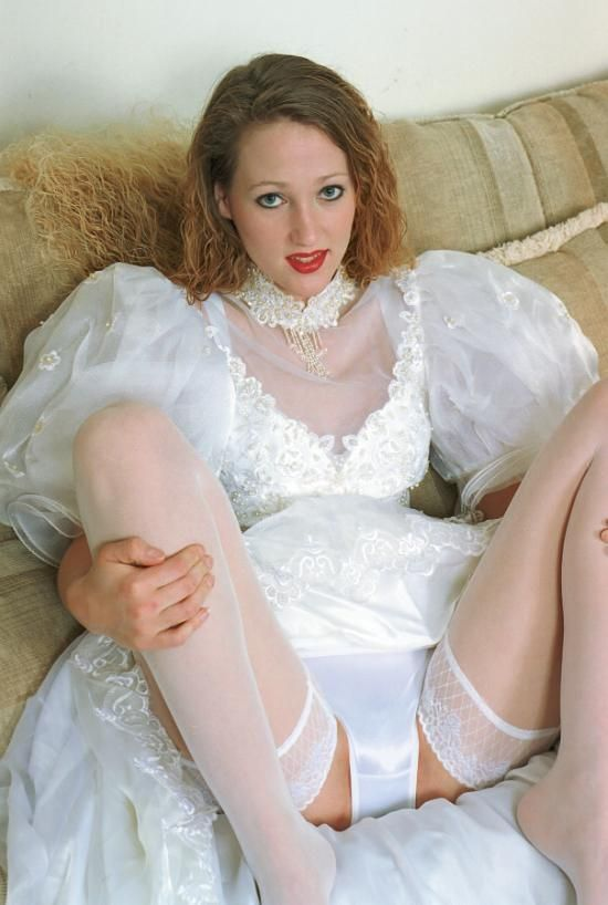 Nude wedding night lingerie think, that
