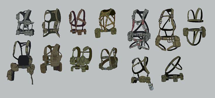 ajtron: Concept art for Metal Gear Online - Rocketumblr