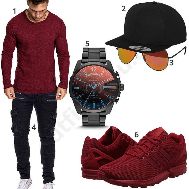 Lässiger Herren-Style mit Cap, Brille und Sneakern (m0918) #uhr #jeans #diesel #uhr #adidas #sneaker #inspiration #cloth #ootd #herrenoutfit #männeroutfit #outfit #style #herrenmode #männermode #fashion #menswear #herren #männer #mode #menstyle #mensfashion #menswear