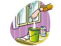 Ajoutez un peu de sel à l'eau de lavage de vos carreaux : ils vont briller encore davantage !