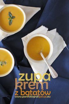 zupa krem z batatów przepis