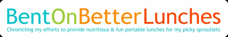 Bent On Better Lunches - a great blog for fun and healthy lunch ideas for kids