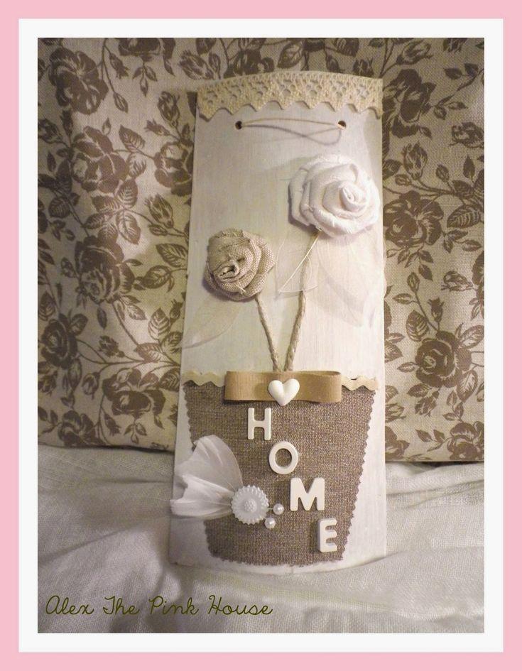 Alex The Pink House: Tegole shabby chic