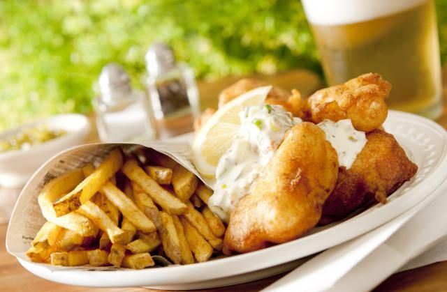 A quick and easy recipe for a beer batter that goes great with fish and seafood. This fish-and-chips recipe is light and airy, despite the fact that it is deep-fried. It works well with tilapia, cod, haddock, walleye, seabass, snapper, halibut -- really any firm fish. You can even use it for shrimp, calamari or oysters.