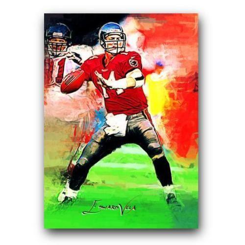 Brad-Johnson-Sketch-Card-Limited-3-25-Edward-Vela-Signed