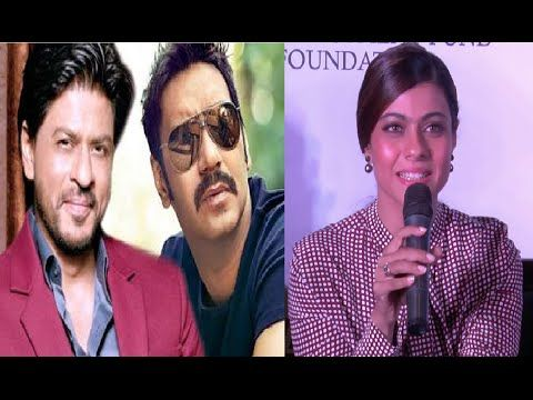 Ajay Devgan's Dilwale vs Shahrukh Khan's Dilwale | Kajol reacts.