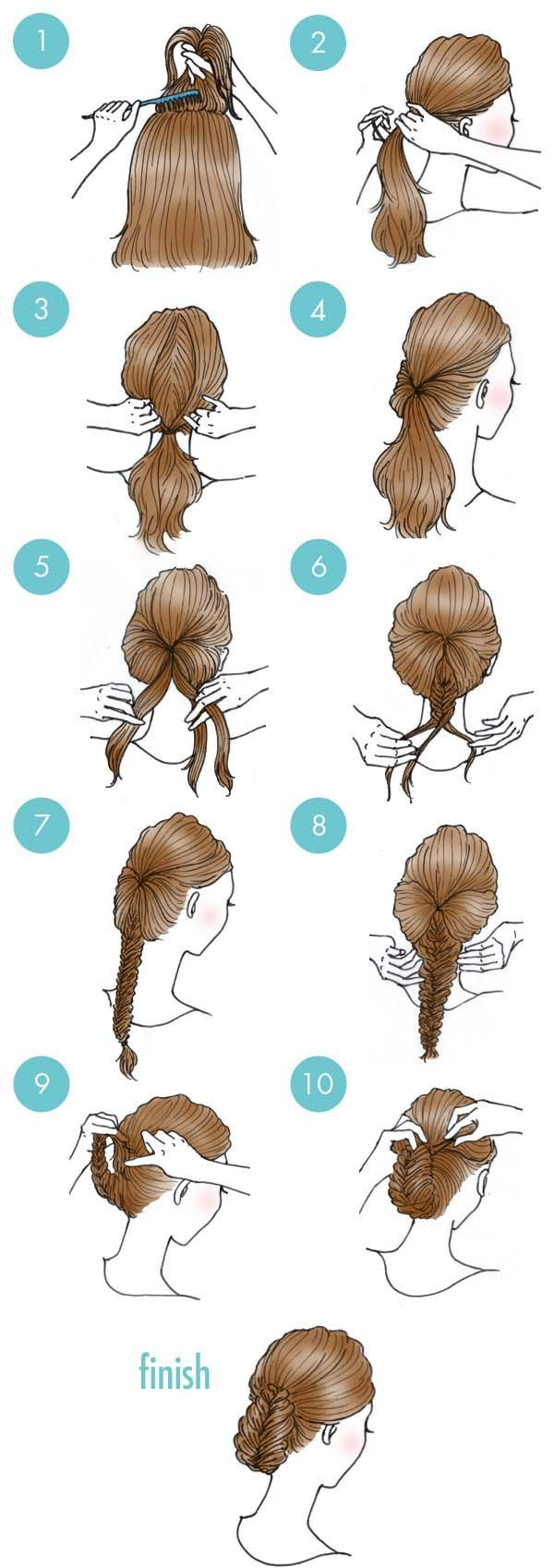 12 peinados fáciles con trenzas para mamás y niñas | Me pica la curiosidad
