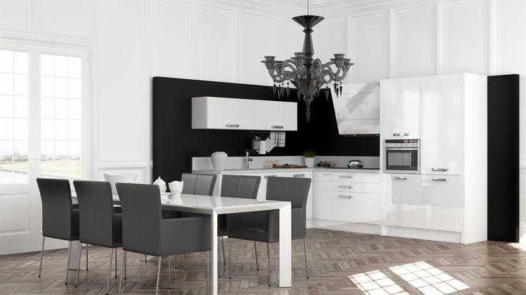 10 beste afbeeldingen over hoek keukens op pinterest - Schmitt keuken ...
