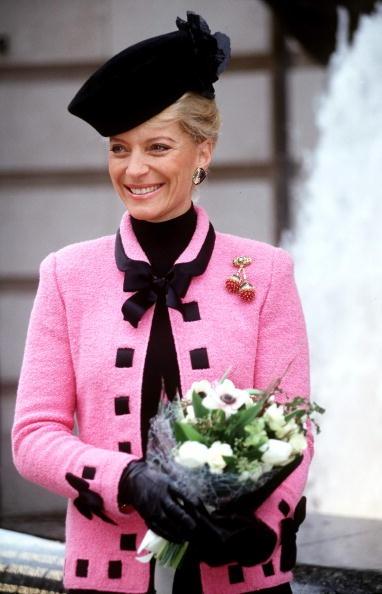 Duchess Of Kent >> H.G. Duchess Wallis of Windsor cherries brooch now owned by H.R.H. Princess Michael of Kent, née ...
