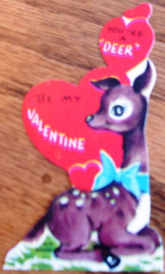 valentine cards vintage