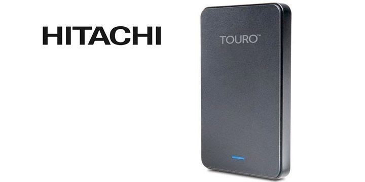 Disco duro externo Hitachi Touro Mobile 1 T. AHORRO 23%. 53€. #ofertas #descuentos