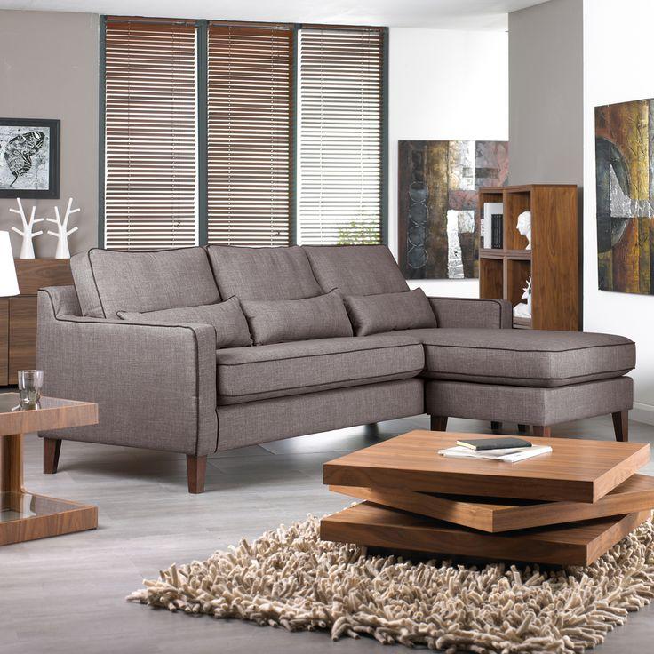 Arden reversible corner sofa light grey