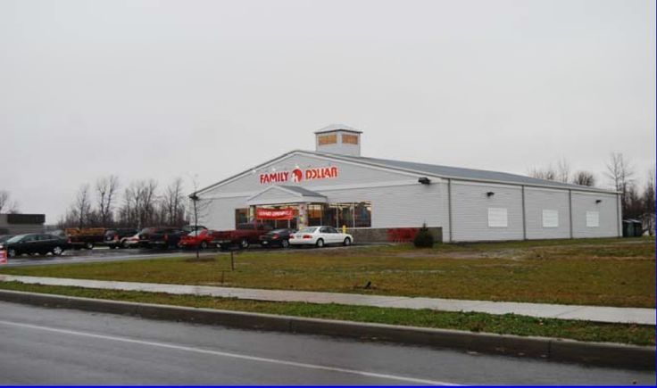 Rouses Point, New York-    Vanguard-Fine, LLC is pleased to offer for sale or lease a free standing 8,000 SF building currently occupied by Family Dollar located in Rouses Point, New York. The site is located in the middle of the Village of Rouses Point, adjacent to the local pharmacy and convenience store on the main street of the community. Rouses Point is located on Lake Champlain and is a vacation destination. Great site for a small grocer or health facility.