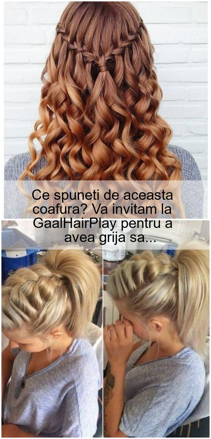 What do you say to this hairstyle? We invite you to GaalHairPlay, to ...
