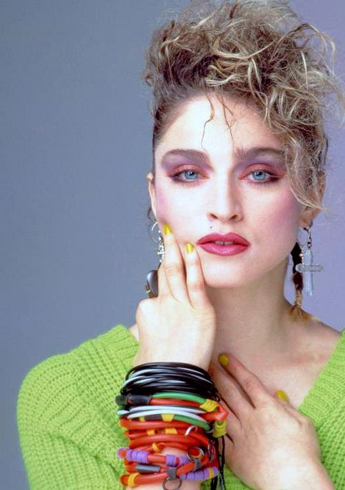 A great picture of 80's Madonna!