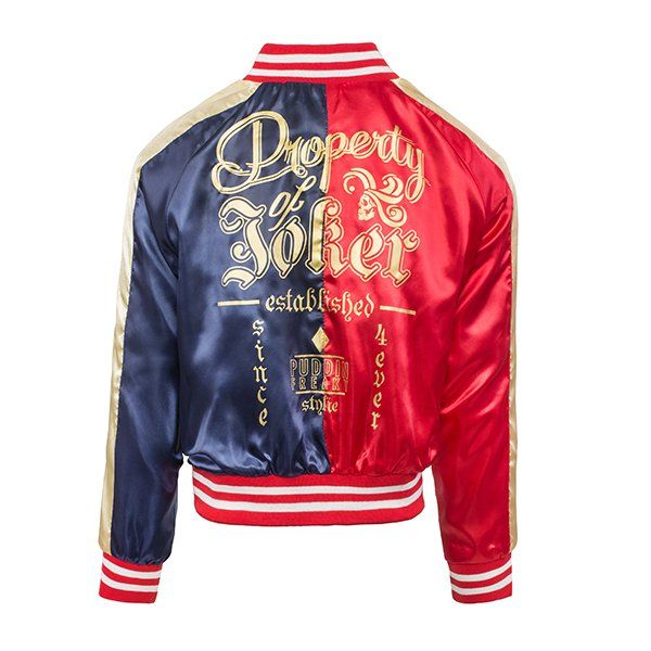 Harley Quinn: Property of The Joker Varsity Jacket Official Replica Preorder - Merchoid