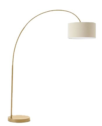 Overarching Floor Lamp- Antique Brass, Natural Shade - See more at: https://www.decorist.com/finds/43275/overarching-floor-lamp-antique-brass-natural-shade/