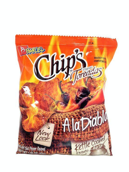 Barcel Chips Papas Toreadas A la Diabla 1.86 oz