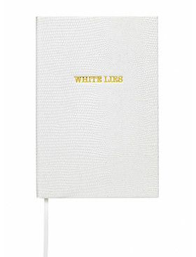 WHITE LIES POCKET NOTEBOOK BY SLOANE STATIONERY