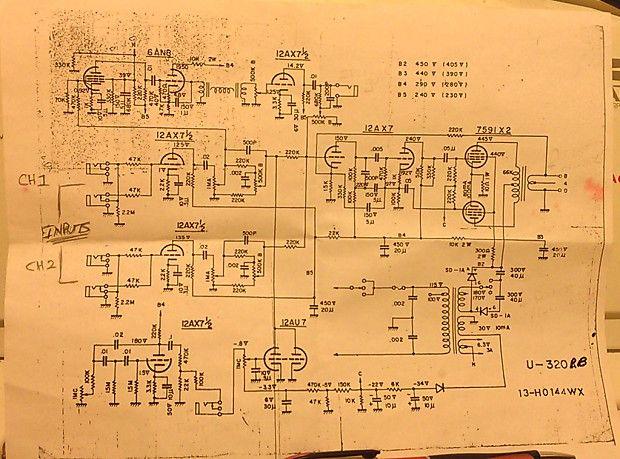 Univox U-320 PB Vintage 1968 Tube Head Amplifier | Reverb ... on sincgars radio configurations diagrams, hvac diagrams, troubleshooting diagrams, battery diagrams, gmc fuse box diagrams, electrical diagrams, electronic circuit diagrams, friendship bracelet diagrams, engine diagrams, switch diagrams, series and parallel circuits diagrams, transformer diagrams, pinout diagrams, led circuit diagrams, motor diagrams, lighting diagrams, smart car diagrams, honda motorcycle repair diagrams, internet of things diagrams,