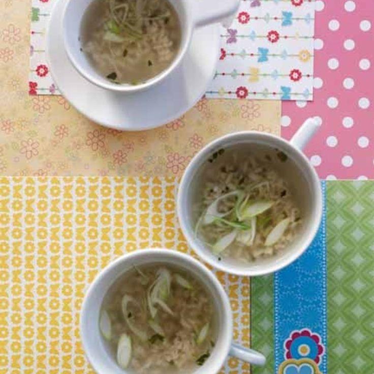 Thaiinspireret rissuppe