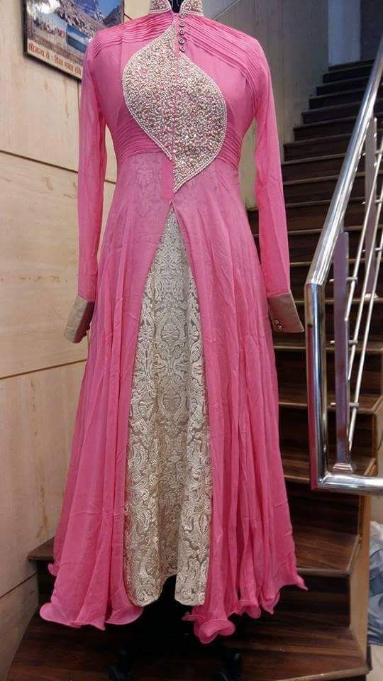 ‪#‎Bollywoodfashiondresses‬ ‪#‎Bollywooddressesdesign‬ ‪#‎LatestwesternLehenga‬ ‪#‎Stylishwesterndressonline‬ # Maharani Designer Boutique  To buy it click on this link :  http://maharanidesigner.com/Anarkali-Dresses-Online/western-dresses/ Rs-9600 Machine work and hand work. for any more information contact on WhatsApp or call 8699101094 Website www.maharanidesigner.com