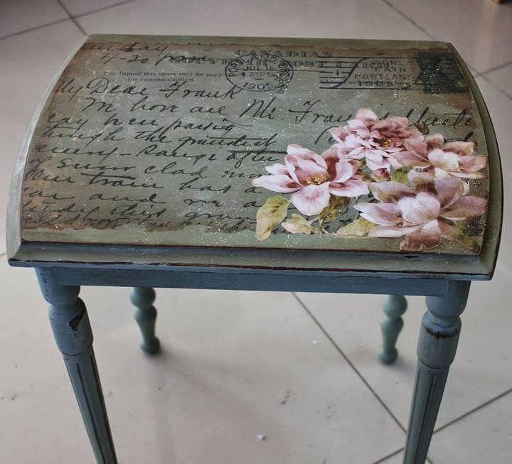 Las 25 mejores ideas sobre silla de decoupage en pinterest for Decoupage con servilletas en muebles