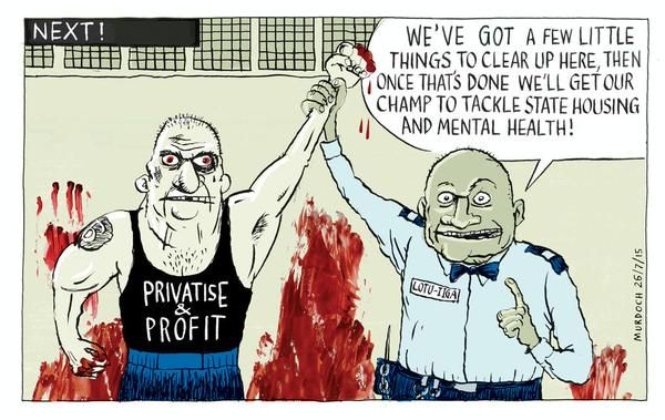 (see the earlier one re private prisons)
