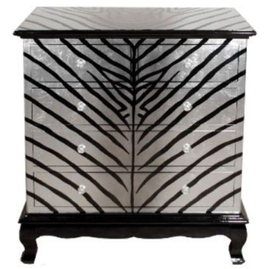 Commode motifs zebre Ambiance Soleil  Annecy