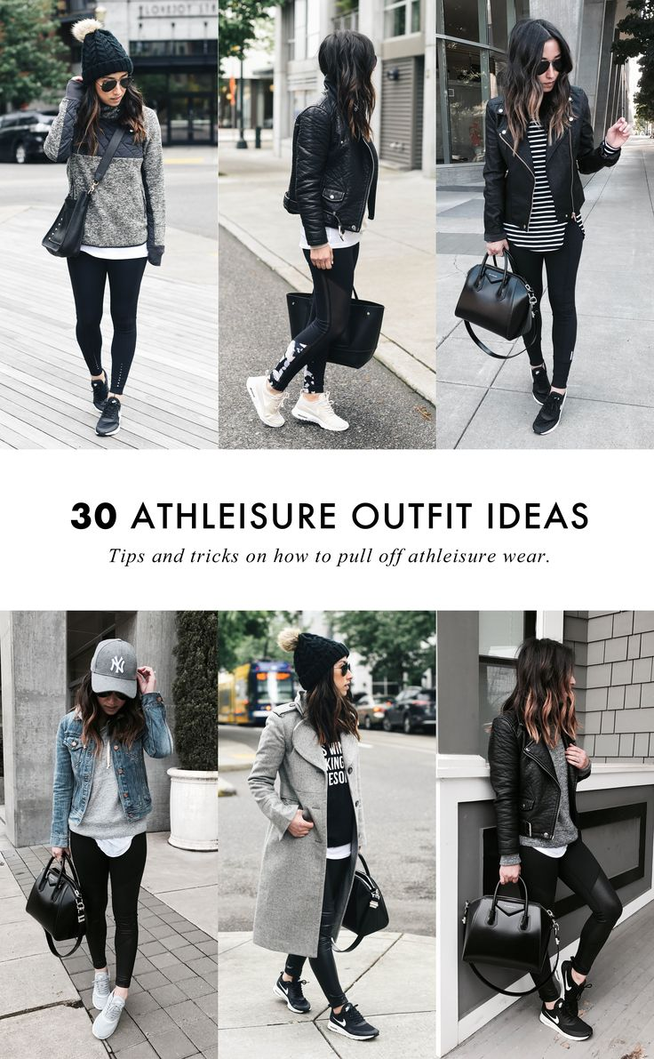 How To Pull Off Athleisure Wear + 30 Outfit Ideas (Crystalin Marie) ,  evelyne castano