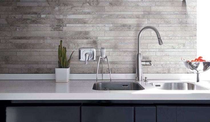 Achterwand Keuken Over Tegels : Architectural Ceramic Tile
