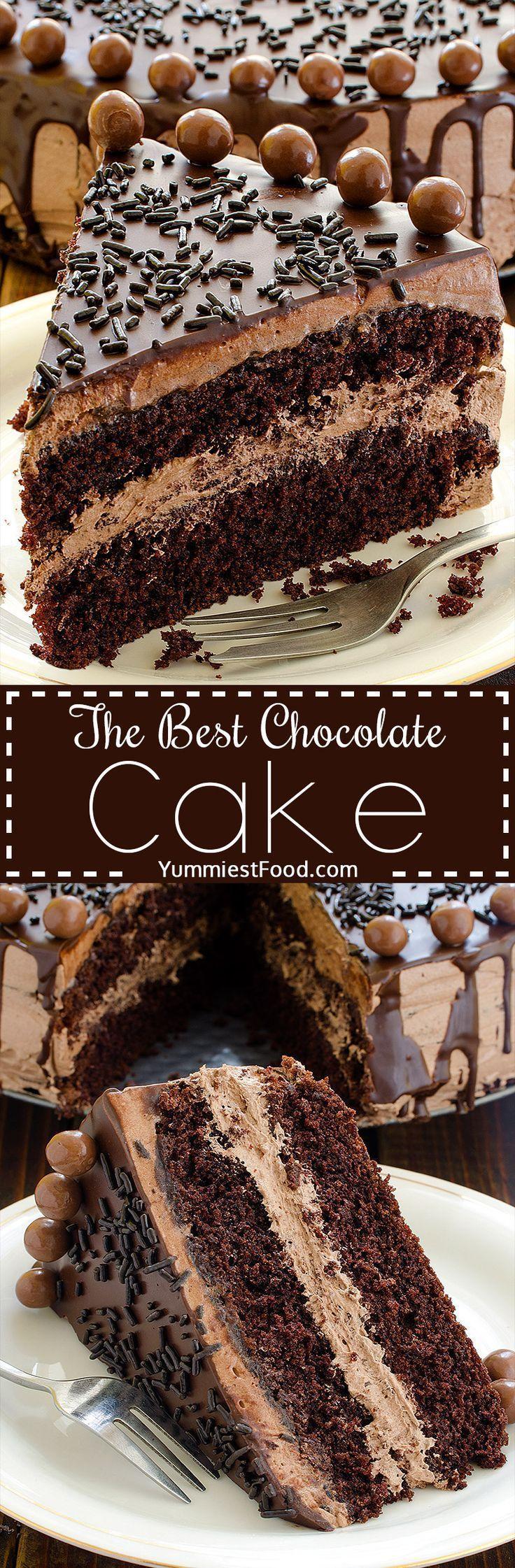 Best 25+ Best chocolate desserts ideas on Pinterest | Homemade ...