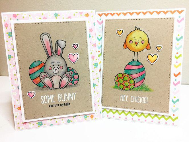 Easter cards by Amy