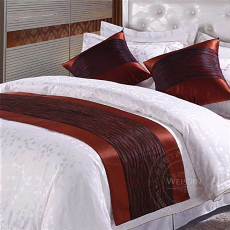Bed Runner Manufacture New Fashion Decorative Hotel Bed