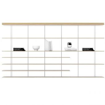 Bookcase Graduate Molteni&C - design Nouvel Jean - for sale on line by clicking here http://goo.gl/ucN0j2