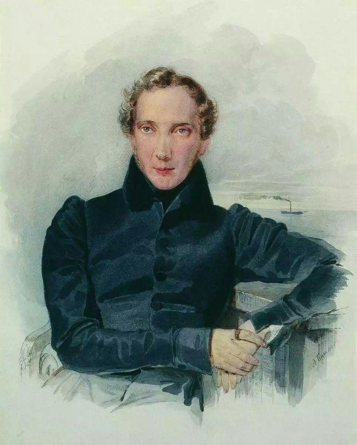 Портрет А.А. Оленина. 1830