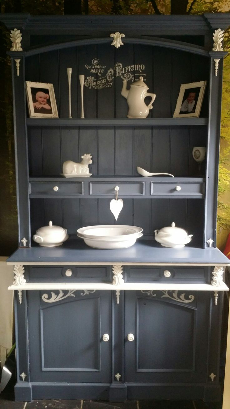 Pine Dresser upstyled by moi