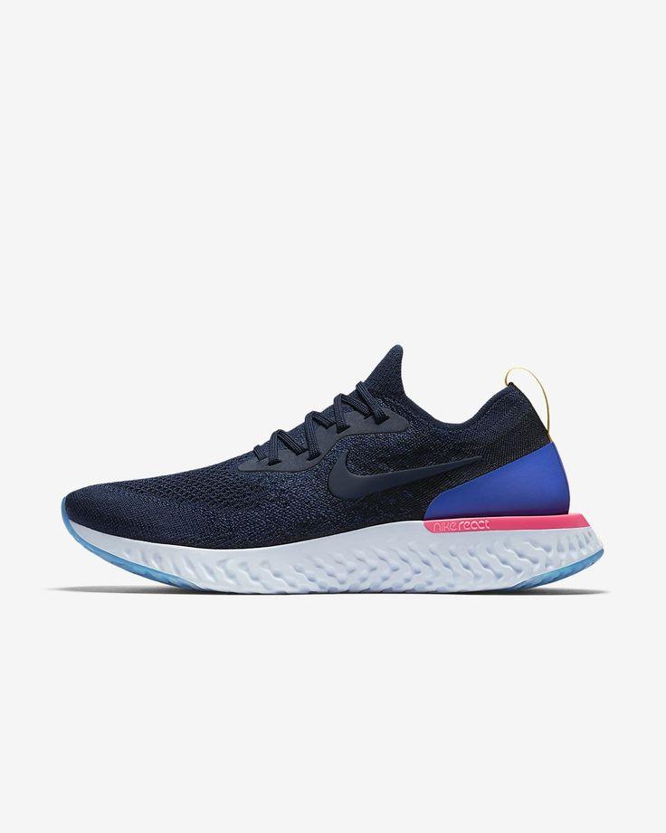 Мужские беговые кроссовки Nike Epic React Flyknit