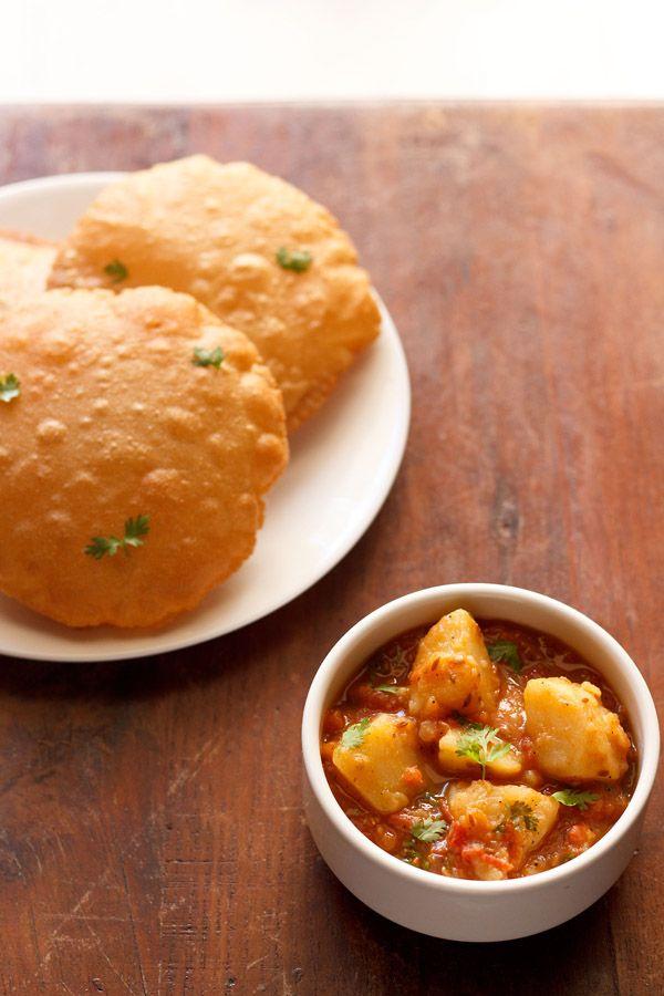 aloo tamatar sabzi - potato tomato curry recipe   navratri recipes