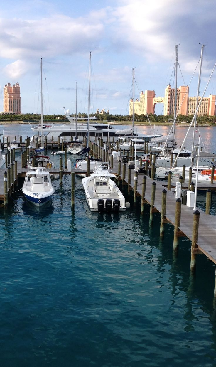 Perfect location for boaters in Nassau, Bahamas - Bay Street Marina
