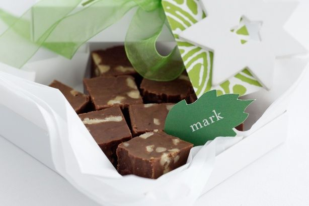 Planning on making your own Christmas gifts? This fudge can be made two weeks out and is sure to be well received.
