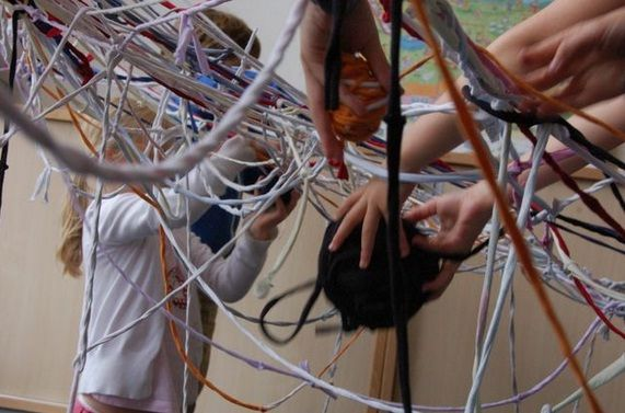 Action Weaving | Visual Art Research