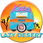 "Kate's Lazy Desert - Located in the High Desert in Landers CA near Joshua Tree and Palm Springs. Six vintage Airstream Trailers designed by artist team Maberry-Walker are situated in the gorgeous painted desert and are available for those who enjoy the outdoors, nature and a ""campy"" experience."