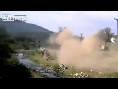 Huge Rally Crash - Rally Accident