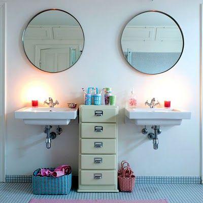 gefasster spiegel